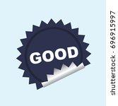 label | Shutterstock .eps vector #696915997