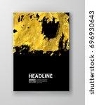 vector black and gold design... | Shutterstock .eps vector #696930643