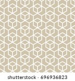 abstract geometric pattern with ... | Shutterstock .eps vector #696936823