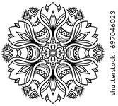mandala. decor for your design  ...   Shutterstock .eps vector #697046023