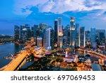 Singapore Cityscape. Landscape...