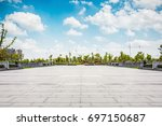 the lake in the park | Shutterstock . vector #697150687