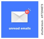 unread emails icon