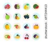 set vector illustration of...   Shutterstock .eps vector #697244413