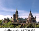 Small photo of Canadian Parliament in Ottawa, Canada, May 18, 2008