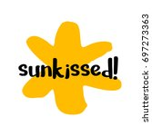 Sun Kissed Brush Lettering...