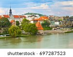 slovenia  maribor   july 18 ... | Shutterstock . vector #697287523