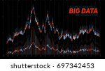 vector abstract financial big... | Shutterstock .eps vector #697342453