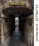 Small photo of Advocate's Passage. The ancient passageway from the Royal Mile to Princes Street.