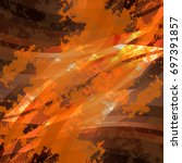 abstract backgrounds design... | Shutterstock .eps vector #697391857