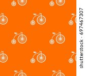 Penny Farthing Pattern Repeat...