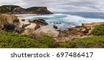 typical portugal   rough yet... | Shutterstock . vector #697486417