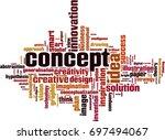 concept word cloud concept.... | Shutterstock .eps vector #697494067
