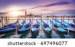 venice at sunrise | Shutterstock . vector #697496077