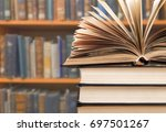 book. | Shutterstock . vector #697501267