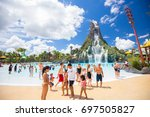 usa. florida. orlando. august ... | Shutterstock . vector #697505827