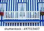 houses of aveiro | Shutterstock . vector #697515607