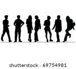 business people | Shutterstock .eps vector #69754981