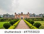 lalbagh fort or fort aurangabad ... | Shutterstock . vector #697553023