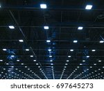 lights and ventilation system... | Shutterstock . vector #697645273