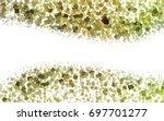 light green  yellow vector... | Shutterstock .eps vector #697701277