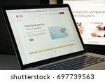 milan  italy   august 10  2017  ... | Shutterstock . vector #697739563