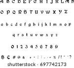 Typewriter Font  Gothic Font...