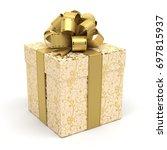 gift box   Shutterstock . vector #697815937