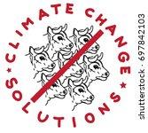 climate change solution...   Shutterstock .eps vector #697842103