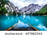 scenic view of nature | Shutterstock . vector #697882543