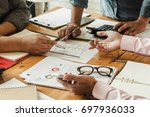 close up of working process at...   Shutterstock . vector #697936033
