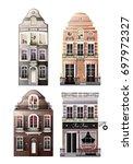 variations of old european... | Shutterstock .eps vector #697972327
