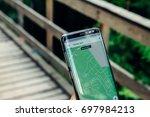 kazan  russian federation   aug ... | Shutterstock . vector #697984213