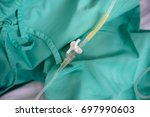 patient in the hospital and... | Shutterstock . vector #697990603