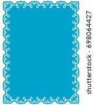 frame border label page vector... | Shutterstock .eps vector #698064427