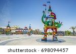 dubai  united arab emirates... | Shutterstock . vector #698094457