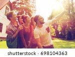 leisure  party  technology ... | Shutterstock . vector #698104363