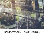 in selective focus to soft... | Shutterstock . vector #698105803