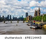 london  uk   circa june 2017 ... | Shutterstock . vector #698114443