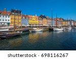 copenhagen  denmark   july  15  ...   Shutterstock . vector #698116267