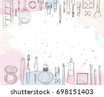 beauty product | Shutterstock .eps vector #698151403