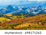 Small photo of Mt Sneffels Range, Dallas Divide, Colorado