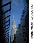 new york   feb 08  2016  ... | Shutterstock . vector #698221423