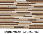 abstract home decorative oil...   Shutterstock . vector #698253703