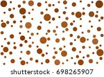 light orange vector banners set ...   Shutterstock .eps vector #698265907