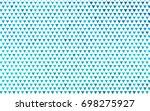 light blue vector geometric...   Shutterstock .eps vector #698275927