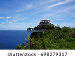 observatory of two lovers point ... | Shutterstock . vector #698279317