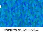 dark blue vector polygonal...   Shutterstock .eps vector #698279863