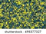 dark blue  yellow vector...   Shutterstock .eps vector #698377327