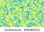 dark blue  yellow vector...   Shutterstock .eps vector #698380513